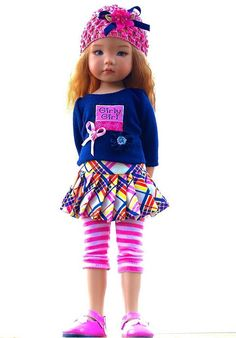"""~Girly Girl~ Outfit for 13"""" Effner Little Darling by Sharon. SOLD for $74.00 on 2/21/15"""