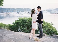 A Radiant Romance | Sunshine | Bright | Engagement Shoot | Hong Kong | Forest | Heart warming | Intimate | Dreamy | http://brideandbreakfast.hk/2016/10/18/a-radiant-romance/