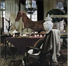 Ralph Lauren Home St Germain Collection Castle French European Old World Rich Luxurious Estate Style