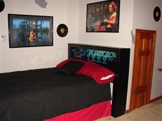 Rock & Roll Guitar Bedroom  by a Teen Sister for a Teen Brother!