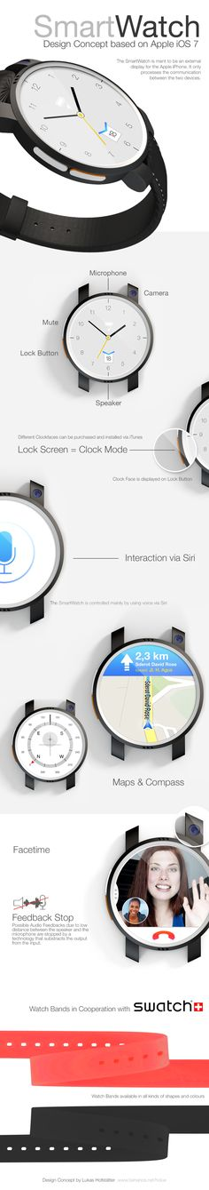 SmartWatch Concept on Behance