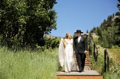 Cowboy Wedding | Snowbird Resort Wedding | Logan Walker Photography
