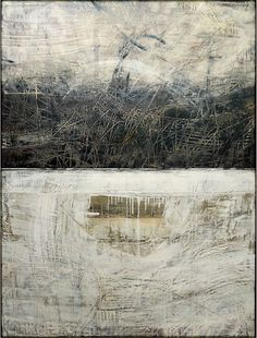 "Ivo Stoyanov, Symbols of memory, 2006 Mixed media on canvas 30""x40"