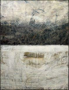 """Ivo Stoyanov, Symbols of memory, 2006 Mixed media on canvas 30""""x40"""