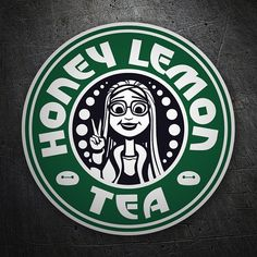 Shop Honey Lemon Tea big hero 6 t-shirts designed by Ellador as well as other big hero 6 merchandise at TeePublic. Disney Starbucks, Starbucks Logo, Starbucks Coffee, Honey Lemon Tea, Tea Design, Coffee Logo, Coffee Is Life, Disney Diy, Disney Travel