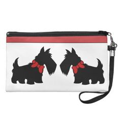 Holiday Home Scottish Terrier Wristlet