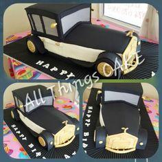 Vintage Rolls Royce Cake Minnie Mouse, Vintage Rolls Royce, Car Cakes, East London, Cake Art, How To Make Cake, Amazing Cakes, Art Designs, Cake Ideas