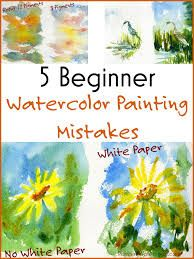 Image result for watercolor painting for beginners easy