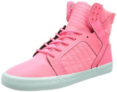 f2037d738223 Supra Skytop Skate Shoe Womens PinkPinkBlue 85 -- More info could be found  at the