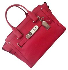 Coach Swagger Red Satchel on Sale, 20% Off | Satchels on Sale at Tradesy