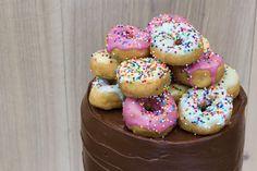 mbakes: Salted Caramel Chocolate Doughnut Cake