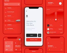 Dope Bank App redesign by Stas Aristov Mobile Ui Design, Ui Ux Design, Design Responsive, Design Social, User Interface Design, Flat Design, Design Layouts, Responsive Web, Corporate Design
