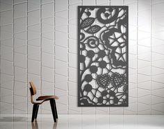 Laser Cut Metal Decorative Screen  BerryBom  Mild Steel - 2.4m x 1.2m