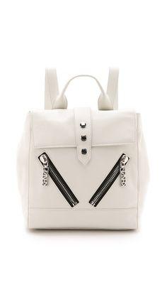 bfcee5a447b Kalifornia Backpack. Studded BackpackWhite BackpackLeather BackpackLeather  BagsZipper BagsKenzoWhite LeatherCamera BagsShoulder Strap