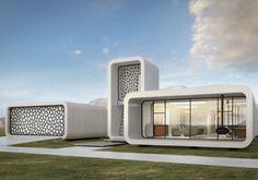 Impresión 3D de edificios: oficinas en Dubái. La compañía china WinSun, pionera en la impresión 3D de edificios, llevará a cabo las obras de unas oficinas vinculadas al Museo del Futuro de Dubái. Se trata de un edificio de 186m2, que tendrá la particularidad de ser el primero íntegramente construido utilizando tecnología de impresión 3D (una impresora de 6,1m), pues incluye tabiquería interior y mobiliario.  #Estructuras, #General, #Mundo3D