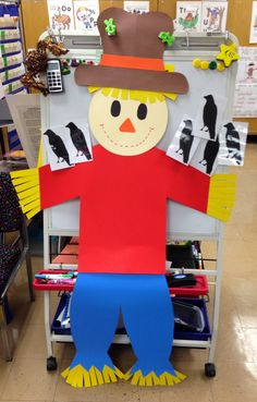 Scarecrow Unit! TONS of Math, Reading, and Writing Activities! And a FREEBIE!