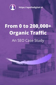 A step-by-step SEO case study showing the exact process used to grow a SaaS company from 0 to monthly organic visitors. Very detailed. Seo Marketing, Influencer Marketing, Digital Marketing, Seo News, Search Engine Optimization, Apollo, Case Study, Bee, Knowledge