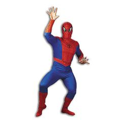 Marvel Spider-Man Adult Halloween Costume: Spiderman, Spiderman does whatever a spider can, a classic that never goes out of style, original character art, and super comfortable Spiderman Halloween Costume, Spider Man Halloween, Halloween News, Adult Halloween, Halloween Costumes, Spider Costume, Masquerade Costumes, Holiday Costumes, Masquerade Party