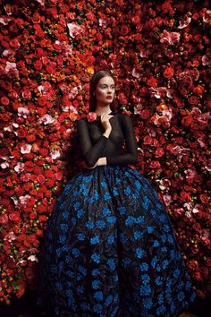 Christian Dior Haute Couture, photographed by Patrick Demarchelier, Fall/Winter 2012