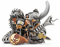 The anniversary celebration for the popular anime/manga title ONE PIECE continues with a limited edition PVC figurine. Casted by Japan's DESKTOP REAL McCOY and the 3 dimensional statuette features exaggerated depiction of Monkey D. One Piece Figure, Figurine One Piece, Mastermind Japan, Model One, Popular Anime, Nico Robin, One Piece Anime, Designer Toys, Anime Figures