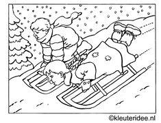 Wintervogels Kleurplaat 1000 Ideas About Winter Kleurplaten On Pinterest