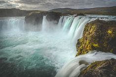 Travel Photography: Goðafoss waterfall, Waterfall of the Gods, Iceland » Acalbright.com