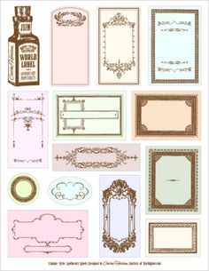 printable apothecary bottle lables
