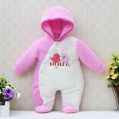 [ 33% OFF ] Newborn Hoodie Autumn And Warm Winter Girls One Piece Romper Long Sleeve Boys Clothes