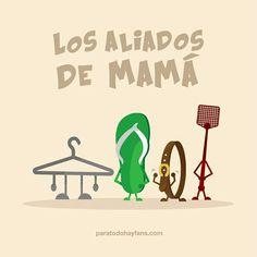 Los aliados de mamá