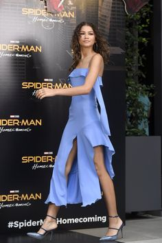 Zendaya at the 'Spider-Man: Homecoming' Photocall in Madrid, Spain 6/14/17