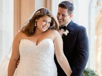 Tight sexi wedding dress in plus size made of matte lace for chubby bride with modern decoration Boho Vintage, Chiffon, Modern Decor, Fall Outfits, Curvy, Tights, Plus Size, Bride, Wedding Dresses
