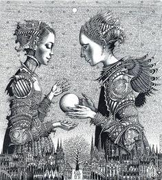 роман сустов графика (беларуский художник).
