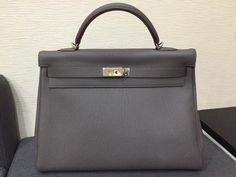 Hermes Brand New Kelly 40cm in Eltain | Luxify | Luxury Within Reach