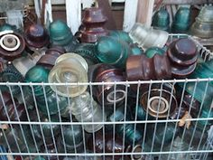 141 Best Glass Telephone Pole Insulators Images Glass