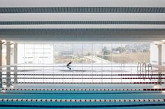 Swimming Pools For Vigo University,© Pedro Pegenaute
