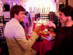 Cena y espectáculo flamenco en Albaicín. #Albaicín #Granada #Flamenco
