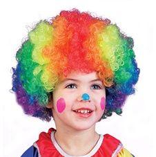 Stor Clown Peruk Barndräkter Flickor 6f10168498f55