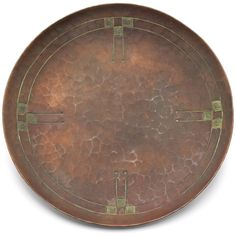 "Roycroft, 6"" diameter"