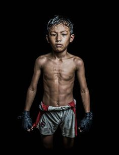 Young Cambodian boxer by Antoine Raab. [760 x 989]
