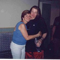 Axl Rose and his sister Amy Bailey