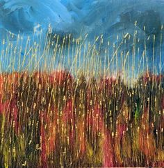 Serenity of Wheat Field Original acrylic painting by VESNAsART ...