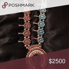 Selling this Double sided Navajo squash blossom on Poshmark! My username is: omica. #shopmycloset #poshmark #fashion #shopping #style #forsale #Native #Jewelry