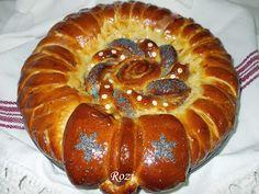 Rozi Erdélyi konyhája: Barack lekváros-dióval töltött kalács Sausage, Pie, Bread, Food, Bakken, Torte, Cake, Sausages, Fruit Cakes