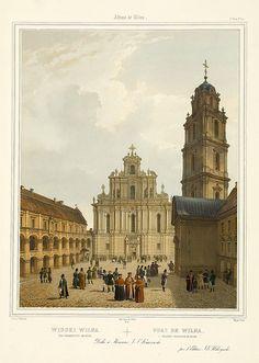 013-Antigua universida de Wilna-Album Vilnius-Biblioteca Polona