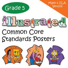 Fifth Grade Common Core Standards Posters - Math and English Language Arts Versions.(On March 9, 2012, I added five new themes and updated and ...