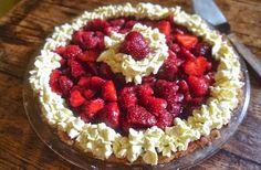 Grain-Free Strawberry Pie | noGuilt Nutrition