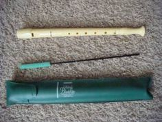 The beginning and end of my musical talent.  (Recorder, 1994)