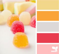 coral/yellow/grey + vintage vibe...it's going to be the new CHP :)