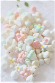 Cute Pastel Marshmallows