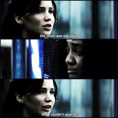 Hunger Games / Catching Fire / Katniss / Rue